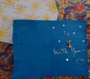 Angel card inside