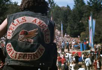 Hells Angels at Mount Tamalpais Rock ConcertScale