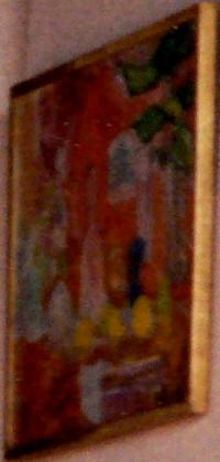 Maud_Henon painting with orange 200